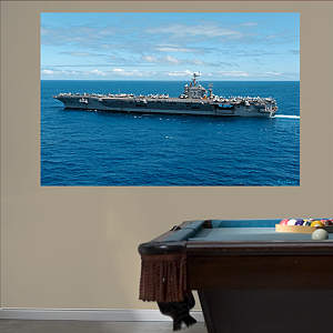 USS Abraham Lincoln CVN-72 Mural Fathead Wall Decal