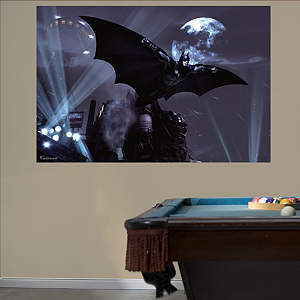 Batman Arkham City Soar Mural Fathead Wall Decal