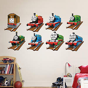 Thomas and Friends Collection Fathead Wall Decal