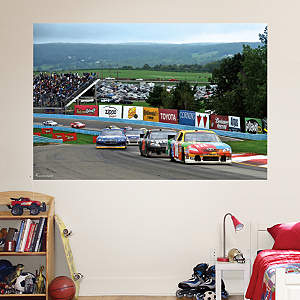 Watkins Glen International Mural Fathead Wall Decal
