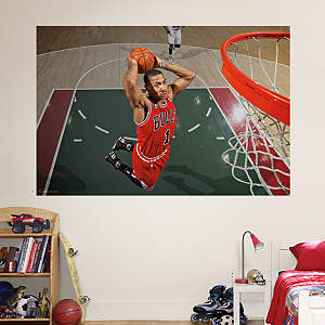 Derrick Rose Mural Fathead Wall Decal