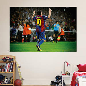 Lionel Messi Mural Fathead Wall Decal