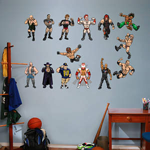 WWE Kids Collection Fathead Wall Decal