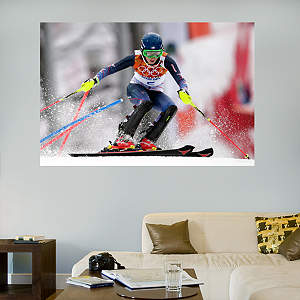 Mikaela Shiffrin Mural Fathead Wall Decal