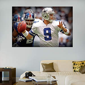 Tony Romo In Your Face Mural Fathead Wall Decal