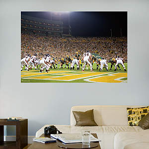Packers-Bears End Zone Mural Fathead Wall Decal