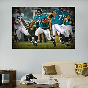 Maurice Jones-Drew Breakaway Mural Fathead Wall Decal