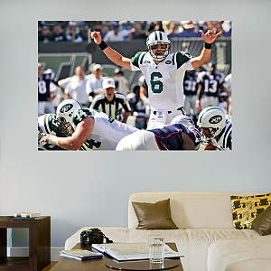 Mark Sanchez In Your Face Audible Mural Fathead Wall Decal