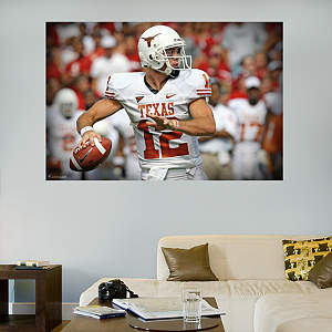 Colt McCoy Texas Mural Fathead Wall Decal
