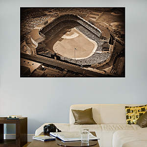 Old Yankee Stadium Historic Aerial Mural Fathead Wall Decal