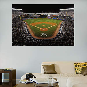 Inside Old Yankee Stadium Mural Fathead Wall Decal