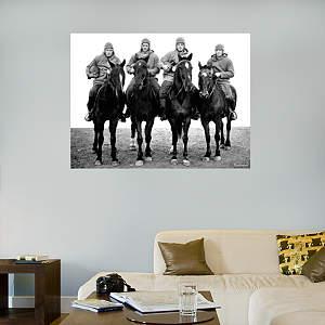 Notre Dame - Four Horsemen Mural Fathead Wall Decal