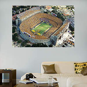 LSU - Tiger Stadium Aerial Mural Fathead Wall Decal