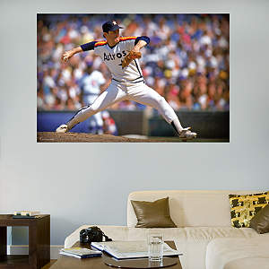 Nolan Ryan Astros Mural Fathead Wall Decal