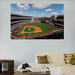 Inside Yankee Stadium Mural Fathead Wall Decal