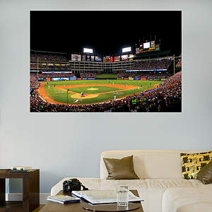 Inside Rangers Ballpark in Arlington Mural Fathead Wall Decal