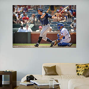 Evan Longoria Mural Fathead Wall Decal