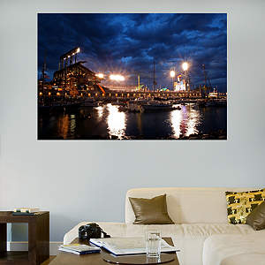 AT&T Park - McCovey Cove Mural Fathead Wall Decal