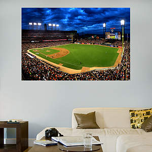 AT&T Park Sky Mural Fathead Wall Decal