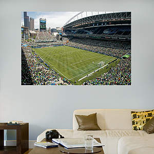 Seattle Sounders Stadium Mural Fathead Wall Decal
