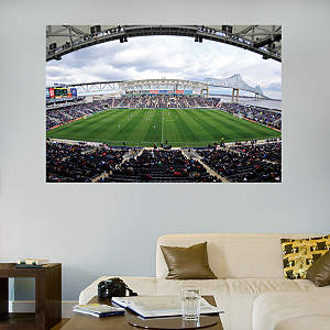 PPL Park Mural Fathead Wall Decal