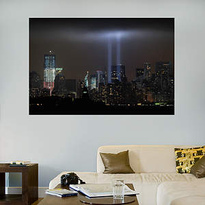 World Trade Center Memorial Mural Fathead Wall Decal