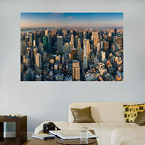New York City Skyline Mural Fathead Wall Decal