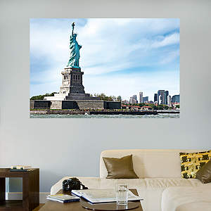 The Statue of Liberty Mural Fathead Wall Decal