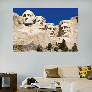 Mount Rushmore Mural Fathead Wall Decal