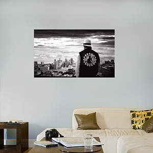 Kid Rock - Detroit Skyline Mural Fathead Wall Decal