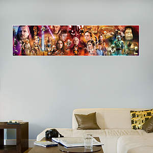 Star Wars Movie Mural Fathead Wall Decal