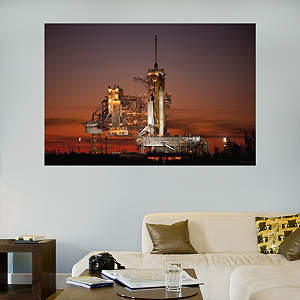 Launch Pad at Dusk Fathead Wall Decal