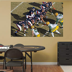 Bears Overhead Line Mural Fathead Wall Decal