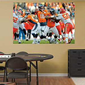 Peyton Manning Mural Fathead Wall Decal