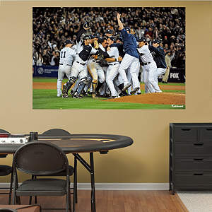 New York Yankees World Series Celebration Mural Fathead Wall Decal