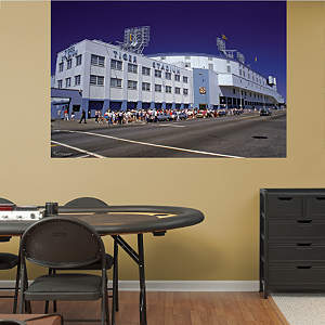 Outside Tiger Stadium Mural Fathead Wall Decal