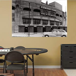 Comiskey Park Historic Mural Fathead Wall Decal