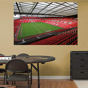 Inside Old Trafford Mural Fathead Wall Decal