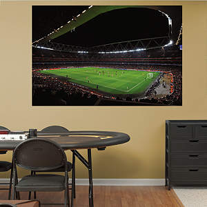 Shop soccer wall murals large international soccer for Arsenal mural emirates