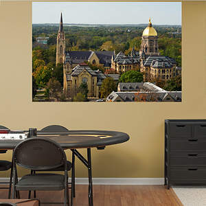 Notre Dame Campus Mural Fathead Wall Decal