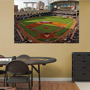 Inside Minute Maid Park Mural Fathead Wall Decal