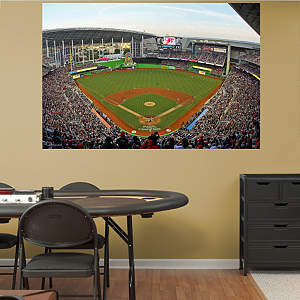 Inside Marlins Park Mural Fathead Wall Decal