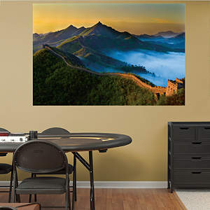 The Great Wall of China Mural Fathead Wall Decal