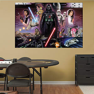 Star Wars™ Classic Mural Fathead Wall Decal