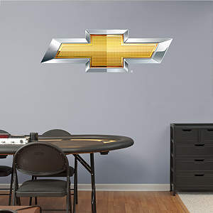 Chevrolet Bowtie Fathead Wall Decal