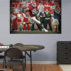 Adrian Peterson Oklahoma Mural Fathead Wall Decal