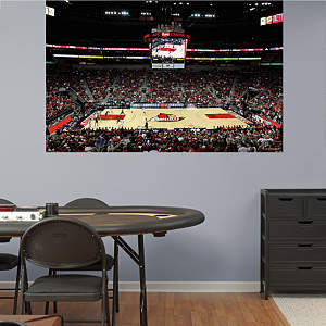 Louisville Basketball Mural - Yum! Center Fathead Wall Decal