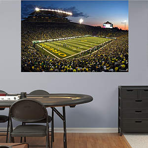 Oregon Ducks - Autzen Stadium Mural Fathead Wall Decal