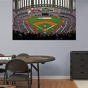 Yankee Stadium American Flag Mural Fathead Wall Decal