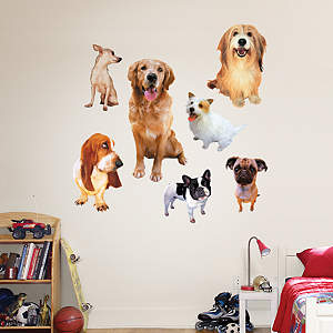Dogs Fathead Wall Decal